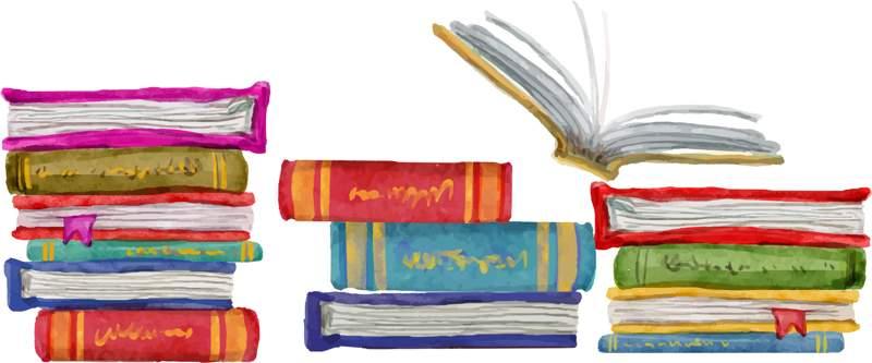 Escribimos por ti - columna de libros horizontal