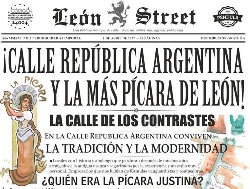 León Street República Argentina nº 1