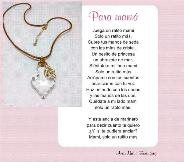 Para Mamá - Poema Collar
