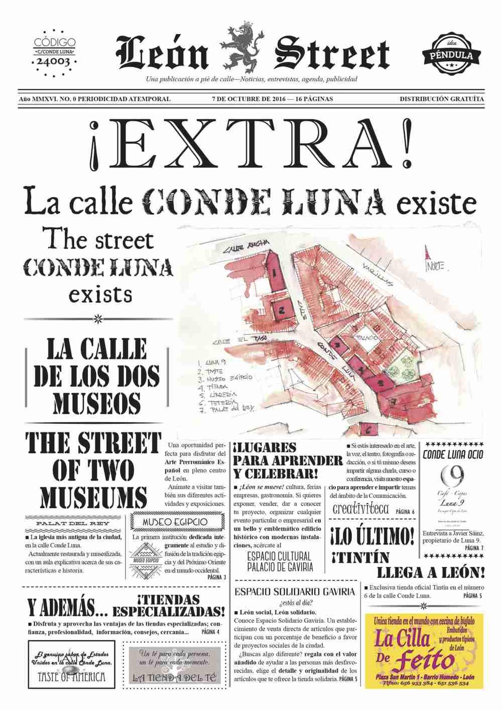 León Street Conde Luna nº 0
