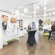 Organización de la Feria de Eventos en el Palacio de Gaviria